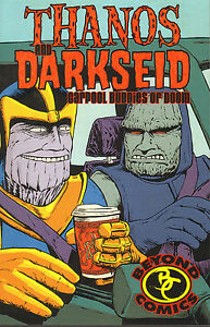 Thanos Darkseid Carpool Buddies of Doom Rafer Roberts Justin Jordan RARE Valiant