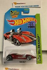 Twin Mill #221 * RED * 2014 Hot Wheels Factory Set * A17
