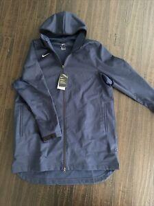 Nike Men's Protect Shield Repel Navy Basketball Jacket AJ6719-419 Sz Medium M