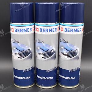 3 x BERNER WONDERCLEAN PREMIUM Lack Schutz Reiniger Glanz 32988