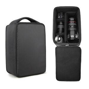 DSLR Camera Bag Insert Protect Case Partition Divider For Canon Nikon Sony Lens