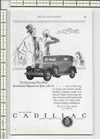 Cadillac GM General Motors Corporation auto car 1927 magazine print ad