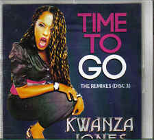Kwanza Jones-Time To Go Promo cd maxi single 6 tracks disc 3