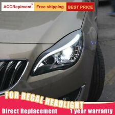 For Buick regal Headlights assembly 2014-2017 Bi-xenon Lens Projector LED DRL