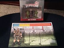 Zombicide Kickstarter Exclusive Ross the Manager season 2 NEW in SHRINK