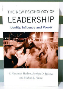 The New Psychology of Leadership: Identity, Influence and Power!