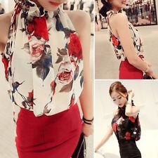 Fashion Women Summer Chiffon Vest Top Sleeveless Blouse Casual Tank T-Shirt Tops