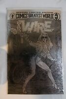 Barb Wire Silver Variant #1 [DH,1993] NM- 9.4 Limited Edition, Comics Greatest