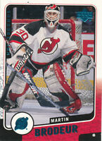 Martin Brodeur 2000-01 Upper Deck Legends #76 New Jersey Devils Card