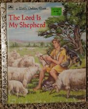 Little Golden Book The Lord Is My Shepherd - 1986