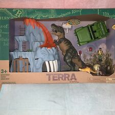 Terra by Battat - T-Rex Big Playset– Electronic Tyrannosaurus Rex Dinosaur Lava