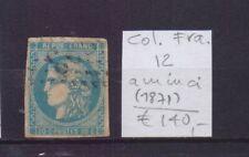 ! France  1871.  Thin Spot Stamp. YT#12. €140.00 !