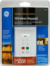 Wireless Alarm System Keypad Home House GE Choice Alert Alarm Keypad NEW