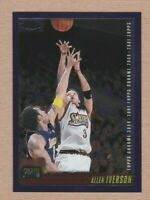 2000-01 Topps Chrome #93 Allen Iverson with Kobe Bryant - NMMT