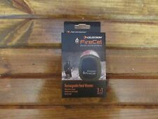 NEW CELESTRON FIRECEL RECHARGEABLE HANDWARMER CELLPHONE CHARGER LED FLASHLIGHT