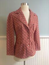 Size Small Medium True Vintage 1970s Women's S M Blazer Jacket 70s Disco Retro