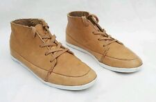 HUB TAN BROWN LEATHER LACE UP BOOTS EU39 UK6 FREE UK POSTAGE!