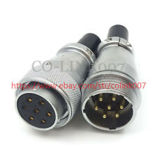 WS28 7Pin Power Connector, 25A Aviation Connector LED Solder Plug Socket