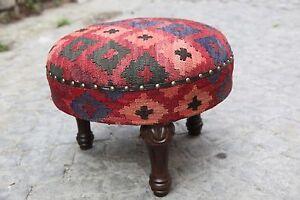Round FootStools,Ottoman Pouf,Kilim Furnitures,Rococo furniture,Decorative arts,