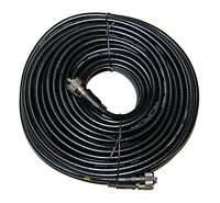 100Ft RG-8X Mini 8 Coax PL-259 Male to Male Amateur and Ham Radio Antenna Cable