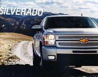 2013 Chevrolet Silverado Truck 40-page Original Sales Brochure Catalog