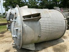 1600 Gallon Stainless Dimple Jacketed Vacuum Reactor