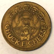 1983 Chuck E. Cheese Token - Arcade 25 Cent Play Value