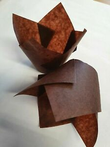 Chocolate Brown Tulip Greaseproof Muffin Cases 160mm pack/200 - FREE DELIVERY