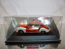 SCHUCO 81039 BMW 501 FEUERWEHR FIRE BRIGADE - RED 1:43 - GOOD CONDITION IN BOX