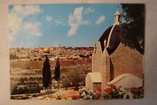 Jerusalem - Sanctuary of The Dominus Flevit - Collectable - Postcard.