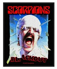 SCORPIONS - Patch Aufnäher - Blackout 8x10cm