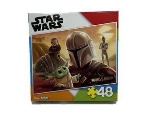 Star Wars Mandalorian Buffalo Games 48pc Puzzle Brand New Yoda