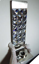 Nib Swarovski Crystal Dressed Up Wall Bud Vase Candle Holder Easy Hang Retired