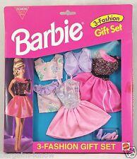 BARBIE 3 FASHION GIFT SET EASY TO DRESS #1 NRFB