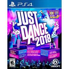 Just Dance 2018 - PS4 ** BRAND NEW / SEALED / U.S. Version ** + FREE Ship !!