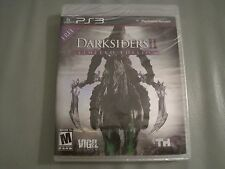 DARKSIDERS 2 II LIMITED EDITION SONY PS3 PLAYSTATION 3 BRAND NEW FACTORY SEALED