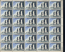 RW33 Sheet of 30. 1966 28 stamps NH. Difficult to obtain. Catalog $3000+