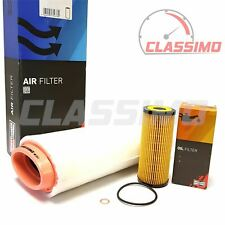 Air Oil Filters for BMW 1 3 Series E46 E81 E87 E90 - 118d 120d 318d 320d - 03-07