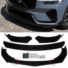 Painted Black Front Bumper Body Kit Spoiler Splitter Lip For Toyota Camry Se Xse Fits Cayenne