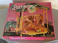 80s # VINTAGE MATTEL BARBIE TROPICAL BUNGALOW HUT#NIB VERY RARE PLAYSET