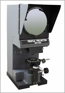 Radical Profile Projector Optical Shadowgraph Inch/MM Digital Measuring Scales