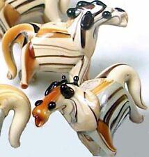 Lampwork Handmade Glass Woodland Horse Beads (6)