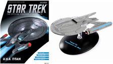 Eaglemoss Star Trek USS Titan Captain William T. Riker With Collector Magazine