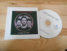 CD Rock John Butler Trio - Close To You (1 Song) Promo WEA cb