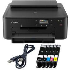 Canon PIXMA TS 705 Drucker + USB + 5x XL TINTE, CD-Druck, Duplex, Foto WLAN WiFi