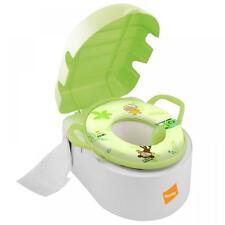 BABYWAY DELUXE 3 in 1 TOT KANNE POTTY GEPOLSTERT TOILETTE TRITTHOCKER
