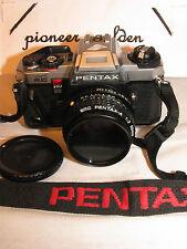PENTAX PROGRAM PLUS 35mm SLR CAMERA w/ Pentax SMC-A 50mm F2 LENS