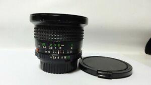 Minolta 17mm f/4 MD-W Rokkor-X Manual focus.Super Wide.