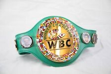 WBC BOXING CHAMPIONSHIP REPLICA BELT WITH LEATHER STRAP
