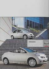 NISSAN MICRA AND MICRA  C+C MODELS SALES BROCHURE SEPTEMBER  2006 FOR 2007